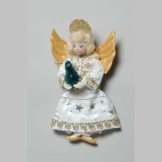 Nutcracker Angel - Click Image to Close