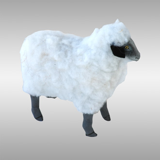Standing Sheep - Click Image to Close
